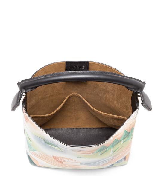 LOEWE Bolso T Bucket Bosque Pequeño Multicolor/Negro all