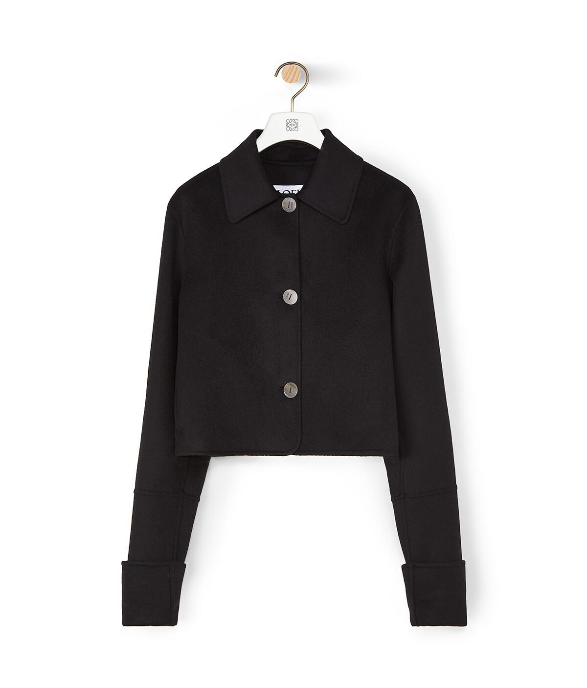 LOEWE Button Jacket Black front