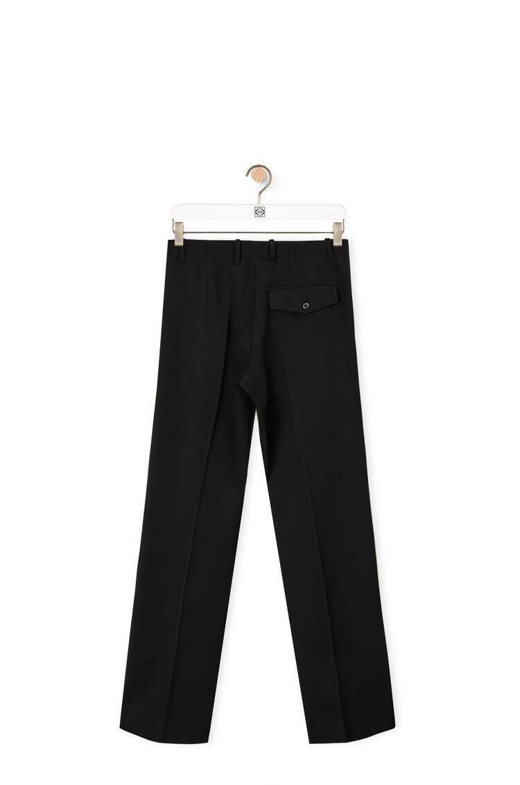 LOEWE Trousers in wool Black pdp_rd