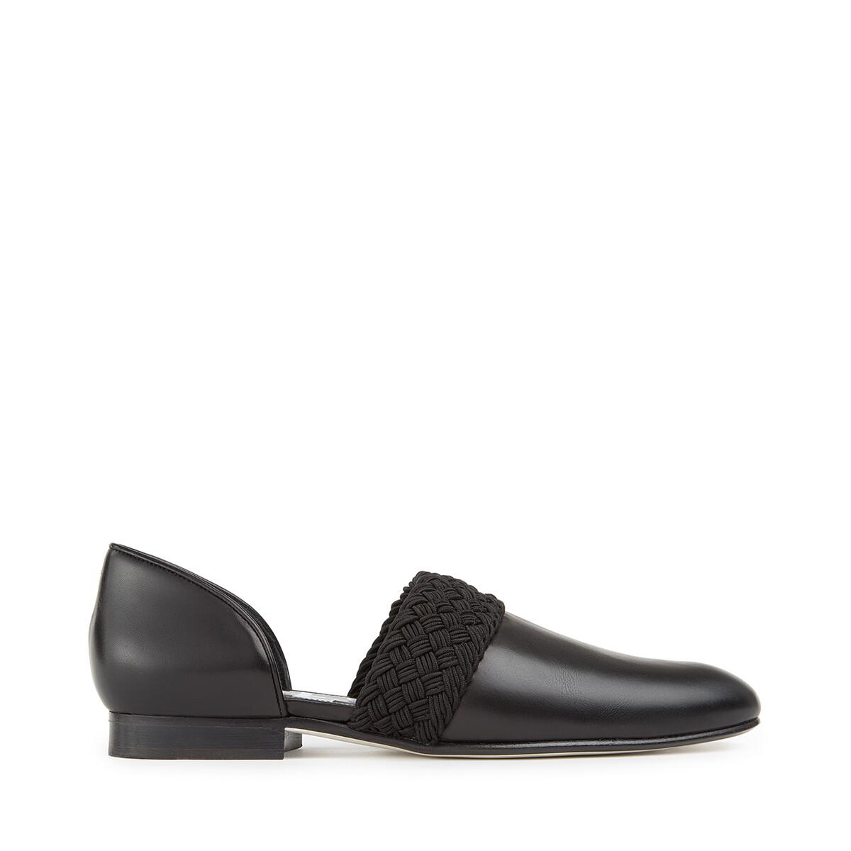 LOEWE Flex Loafer 黑色 front