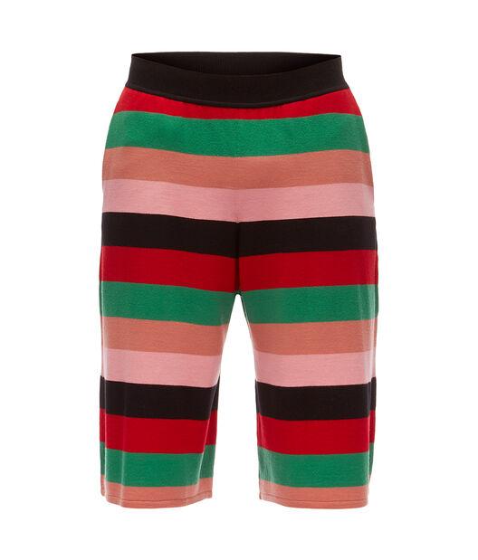 Stripe Knit Shorts