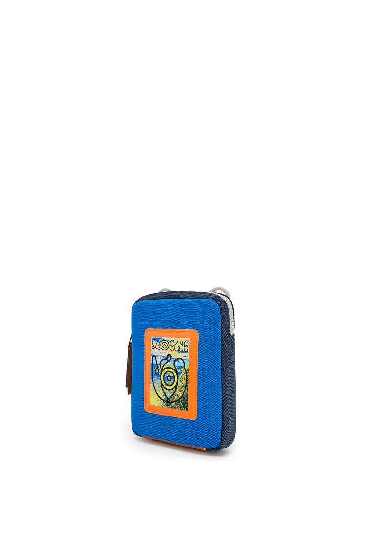 LOEWE Bolso bandolera en lona Azul Electrico/Marino pdp_rd
