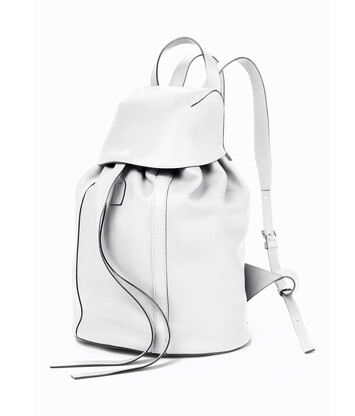 LOEWE Rucksack Small 绵白色 front