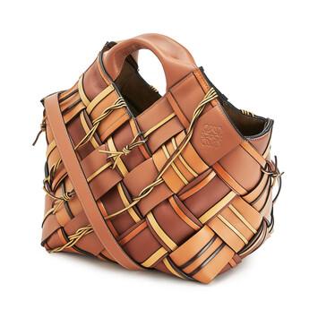 LOEWE Basket Woven Tan front