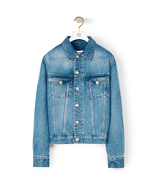 LOEWE Denim Jacket Washed Denim front