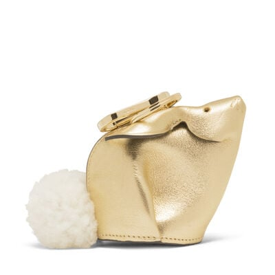 LOEWE Bunny Charm Gold front