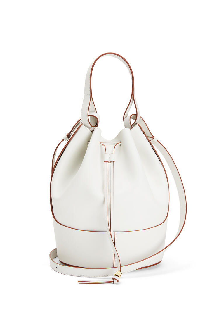LOEWE Large Balloon Bag In Nappa Calfskin 白色 pdp_rd