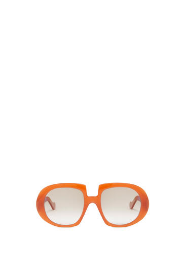 LOEWE ACETATE ANAGRAM SUNGLASSES Brown/Rust Color pdp_rd