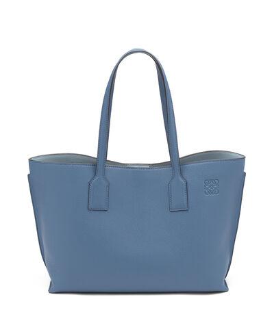 LOEWE T Shopper Bag Varsity Blue/Stone Blue front