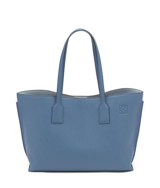 LOEWE T ショッパー バッグ Varsity Blue/Stone Blue all