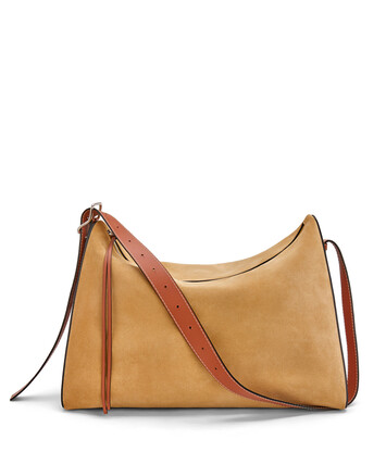 LOEWE Berlingo Large Bag Gold front