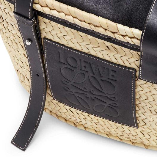LOEWE Basket Bag Natural/Black front