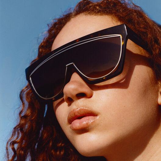LOEWE Gafas Mascara Negro/Humo Degradado front