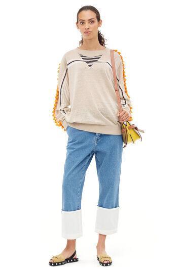 LOEWE Fisherman Stonewashed 靛蓝色 front