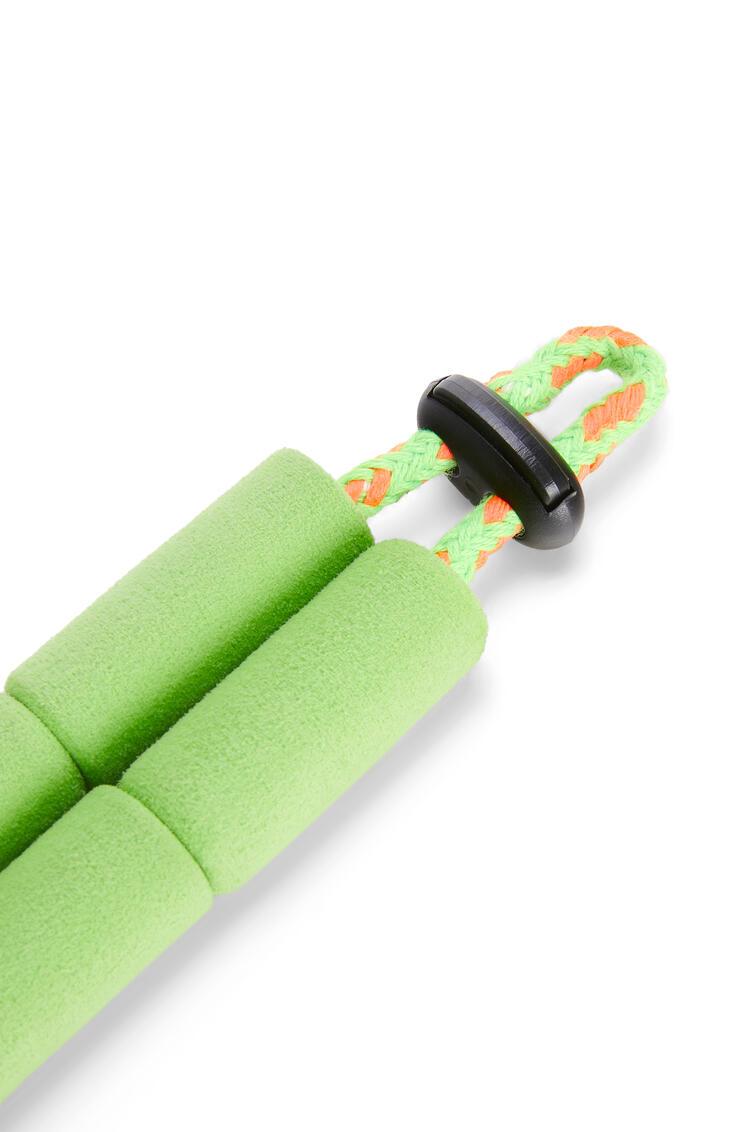 LOEWE Correa para gafas de sol en espuma y cuerda Verde Neon pdp_rd