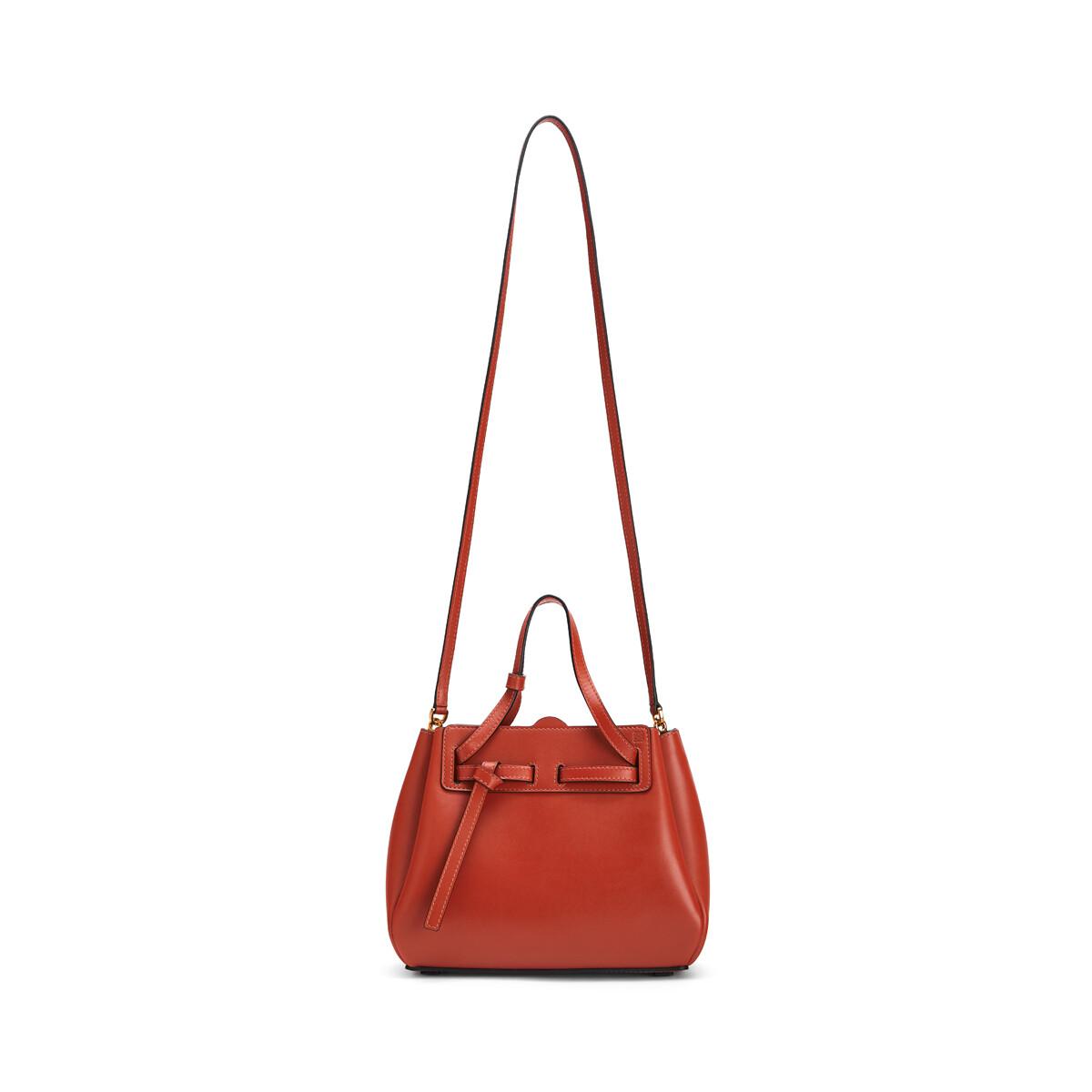 LOEWE Lazo Mini Bag Vermillion front