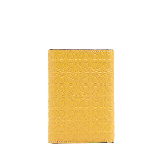 LOEWE Small Vertical Wallet Yellow Mango all