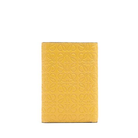 LOEWE Billetero Pequeño Vertical Amarillo Mango all