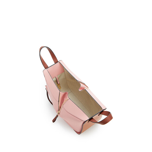 LOEWE Hammock Small Bag Tan/Medium Pink front