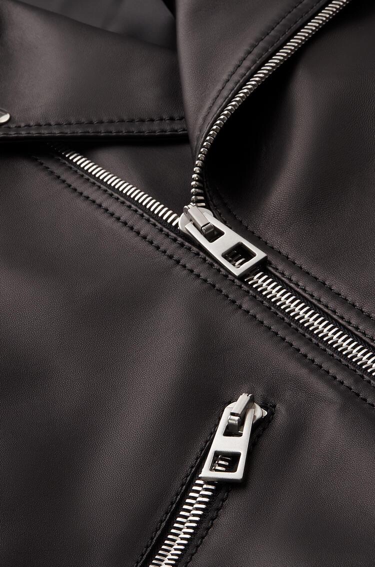 LOEWE Biker jacket in nappa Black pdp_rd
