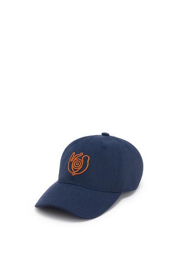 LOEWE 帆布棒球帽 海军蓝 pdp_rd