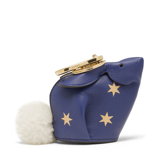 LOEWE Bunny Stars Charm Royal Blue/Gold all