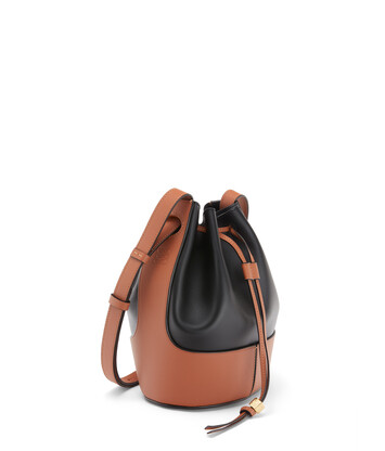 LOEWE Balloon Small Bag Black/Tan front