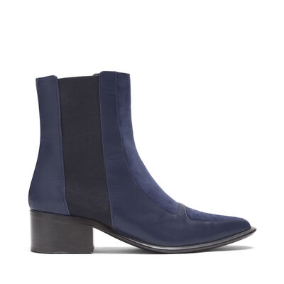 LOEWE Chelsea Boot 40 Navy Blue front