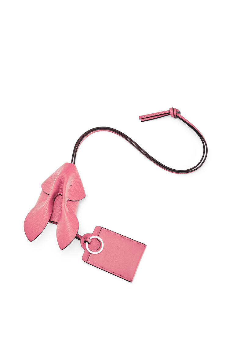 LOEWE Bunny key cardholder in grained calfskin New Candy pdp_rd