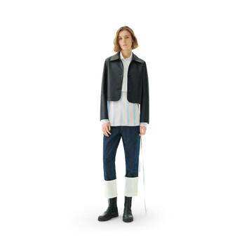 LOEWE Short Jacket Black front