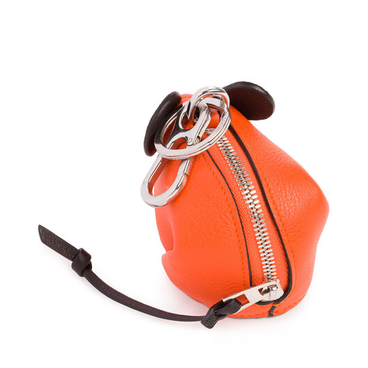 LOEWE Mouse Charm Orange front