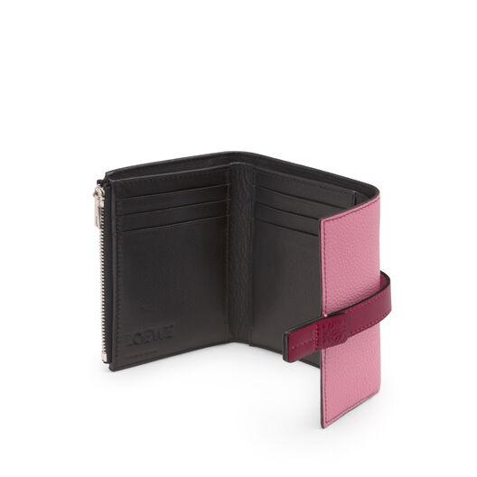 LOEWE Small Vertical Wallet Wild Rose/Raspberry all
