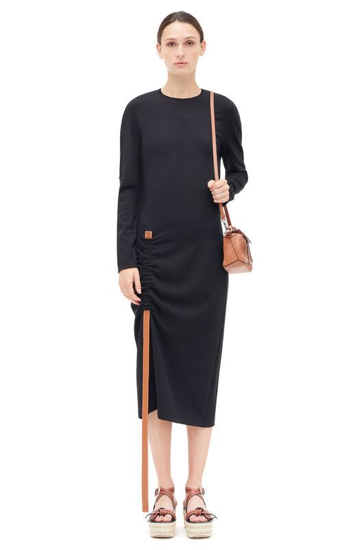 Bodycon Dress Leather Strap