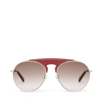LOEWE Pilot Sunglasses Red/Gradient Brown front