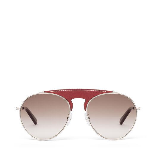 LOEWE Gafas Piloto Rojo/Marron Degradado all