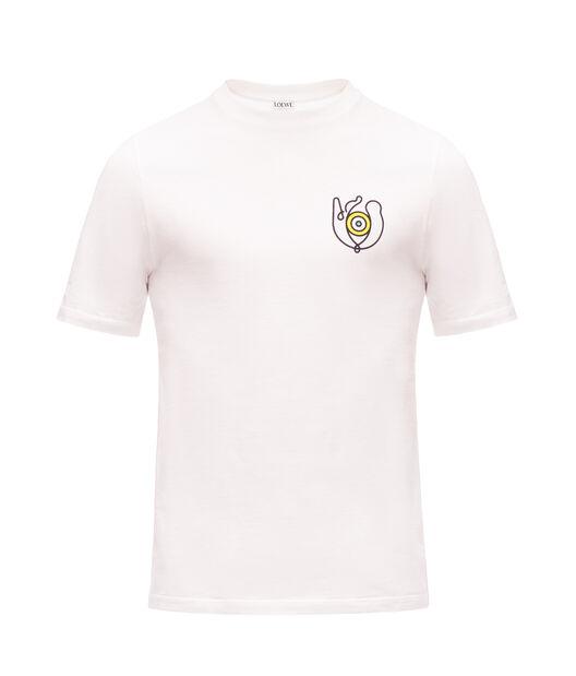 LOEWE T-Shirt Loewe Eye White front