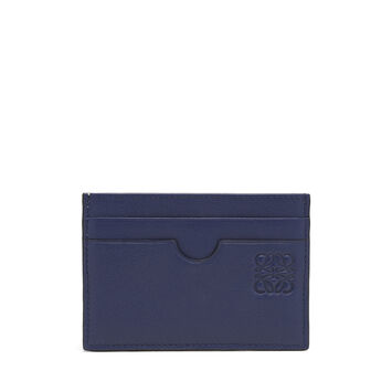 LOEWE Rainbow Plain Card Holder Gold/Silver front