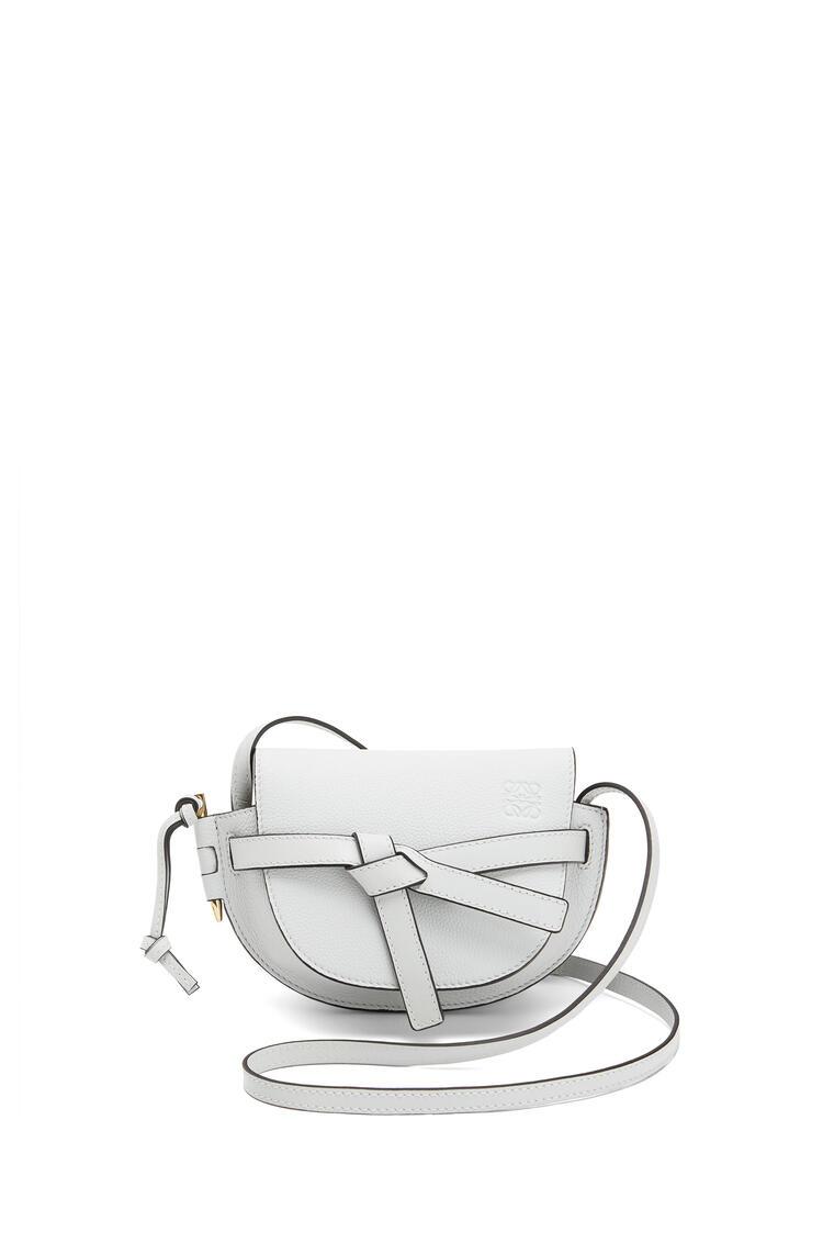 LOEWE Mini Gate Bag In Soft Grained Calfskin Kaolin pdp_rd