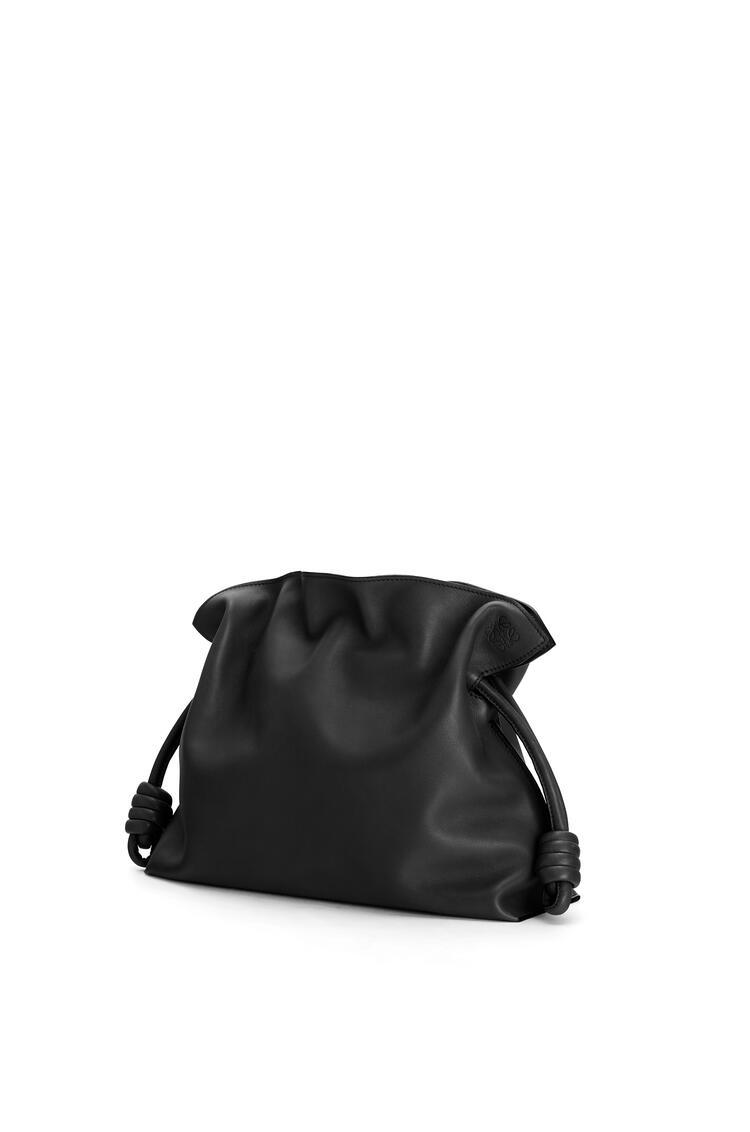 LOEWE Flamenco clutch in nappa calfskin Black pdp_rd