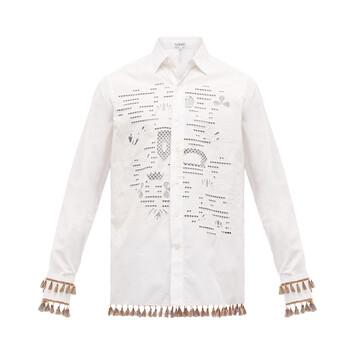 LOEWE Shirt Loewe Embroideries White front