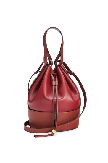 LOEWE Balloon bag in nappa calfskin Deep Red/Dark Rust pdp_rd