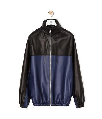 LOEWE Zip Jacket ネイビーブルー front