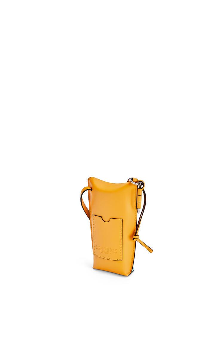 LOEWE La Palme 柔软牛皮革 Gate Pocket 手袋 Yellow Mango/Multicolor pdp_rd