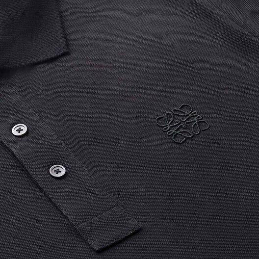 LOEWE Anagram Polo Black all