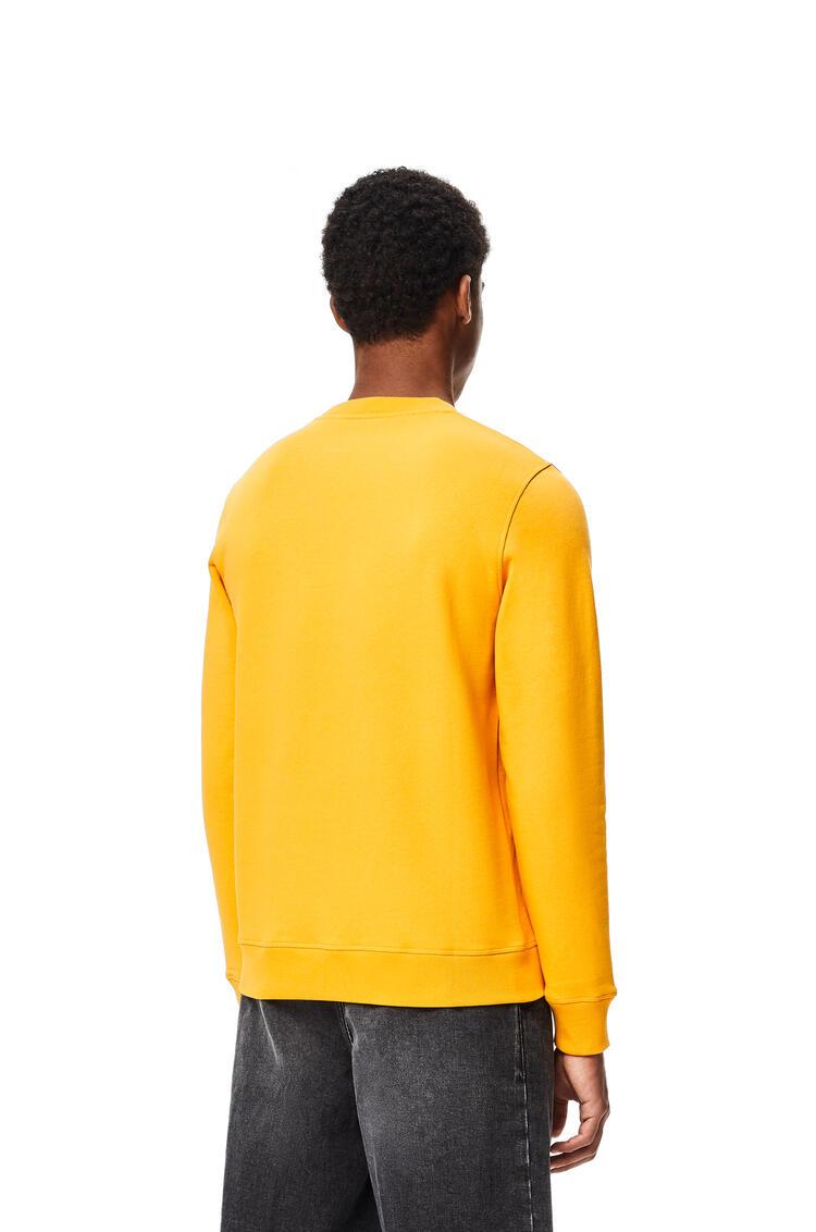 LOEWE LOEWE Anagram embroidered sweatshirt in cotton Orange pdp_rd