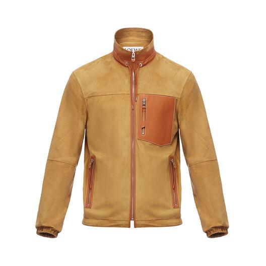 LOEWE Zip Blouson Oro/Bronceado all