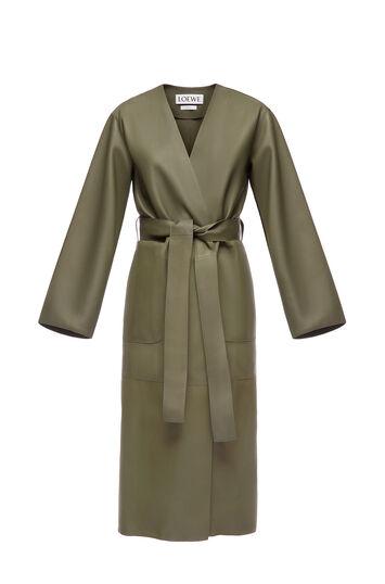 LOEWE Coat Green front