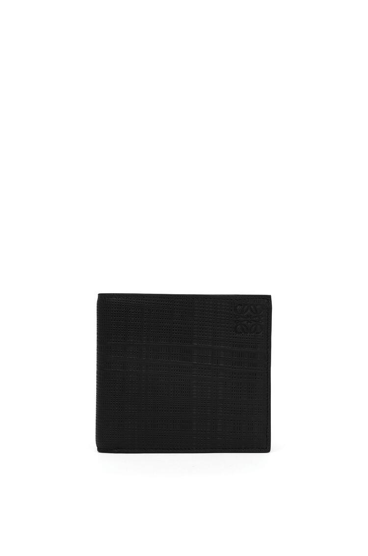 LOEWE Bifold wallet in calfskin Black pdp_rd