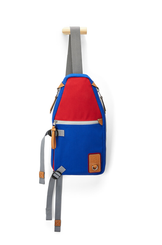 LOEWE Eye/Loewe/Nature Sling Blue/Red front