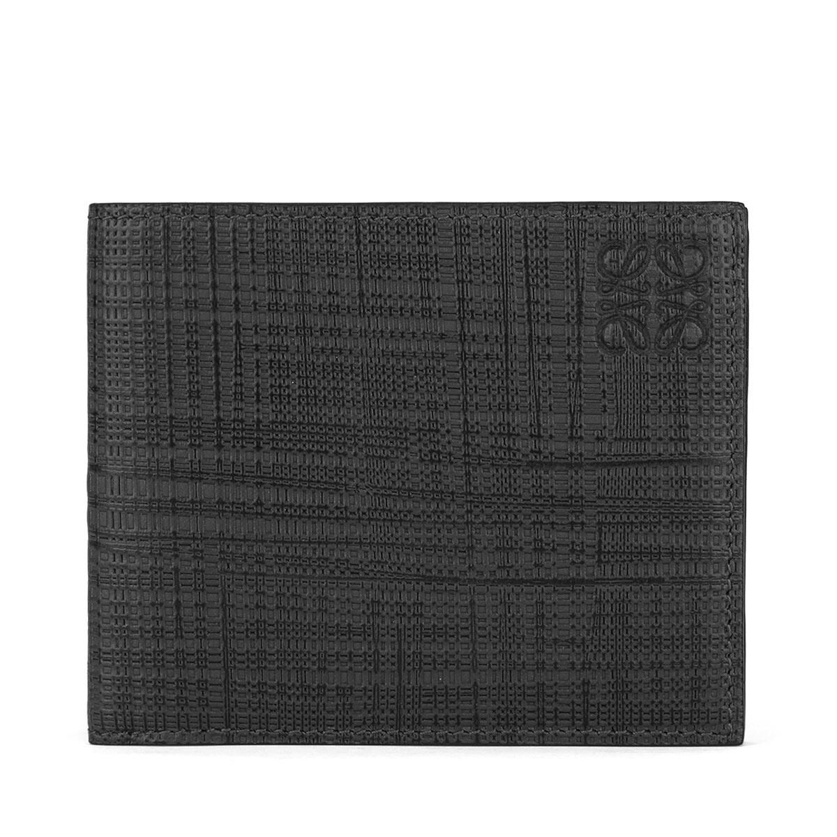 LOEWE 6 Cards Bifold Black front
